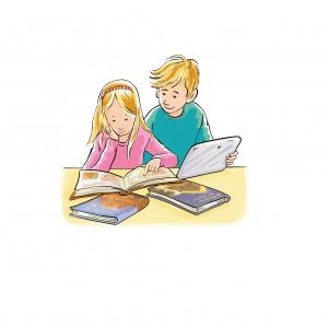 Illustratie 2 Anne und Tim