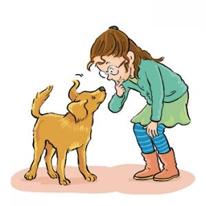 Meisje met hond, Praxisbulletin, Malmberg